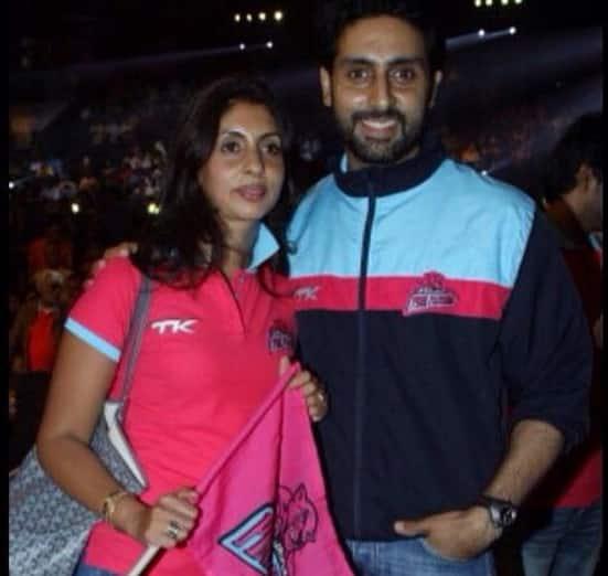 Abhishek Bachchan celebrated Raksha Bandhan with sister Shweta Nanda-View pic!