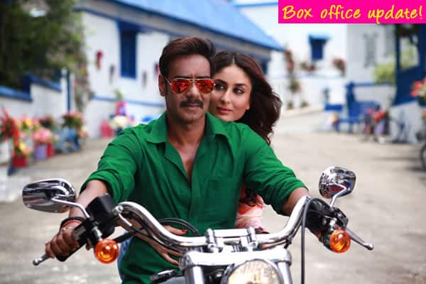 Singham Returns box office collection: Ajay Devgn and Kareena Kapoor's film rakes in Rs 112.59 crore!