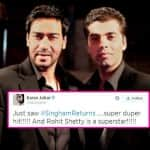 Is Karan Johar taking a sly dig at Ajay Devgn ?