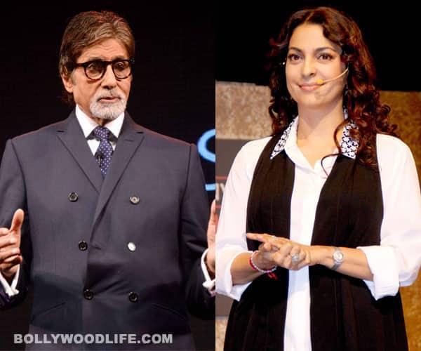 Why did Juhi Chawla not like Amitabh Bachchan's role in Yudh?