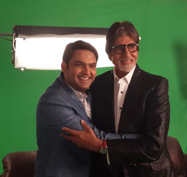 Kaun Banega Crorepati 8: Amitabh Bachchan and Kapil Sharma have a blast while shooting for the show!