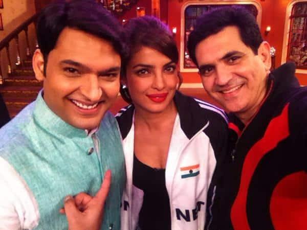 Mary Kom's Priyanka Chopra was very excited to be on Kapil Sharma's show!