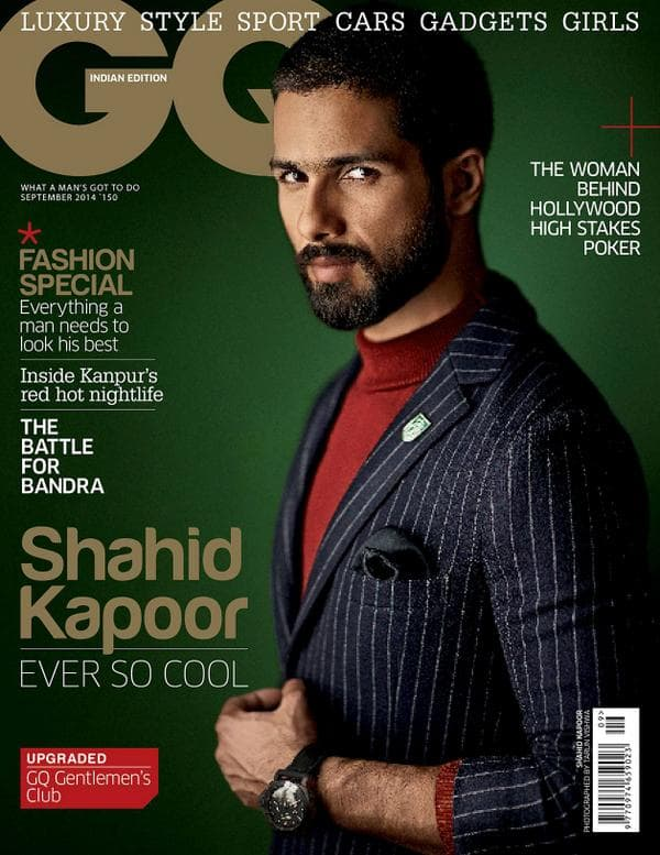 Shahid Kapoor features on a popular magazine cover!
