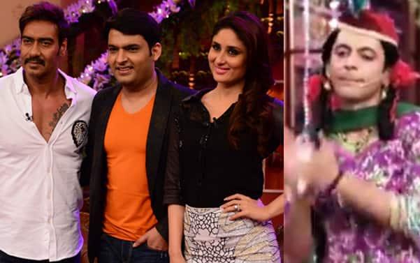 Comedy Nights with Kapil: Ajay Devgn-Kareena Kapoor celebrate with Kapil Sharma, Sunil Grover returns as Gutthi!