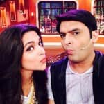 Deepika Padukone and Kapil Sharma pout together - view pic!