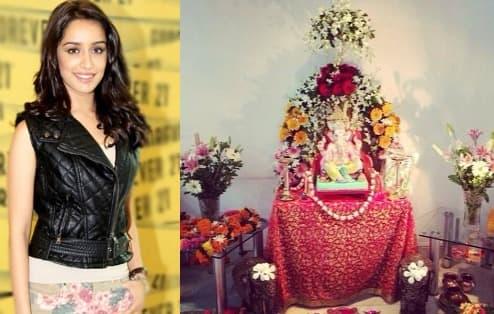 Ganesh Chaturthi 2014: Shraddha Kapoor celebratesGaneshotsav!