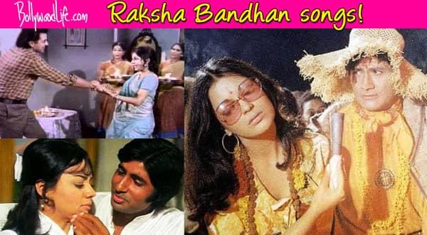 Amitabh Bachchan, Dharmendra, Dev Anand and Ashok Kumar sing Raksha Bandhansongs!