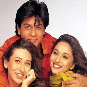 Shah Rukh Khan: I taught Madhuri Dixit Nene and Karisma Kapoor how to dance!