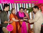Ganesh Chaturthi 2014: Govinda celebrates Ganpati with family – View pics!
