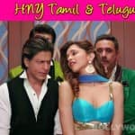 Happy New Year Tamil & Telugu trailer: Shah Rukh Khan and Deepika Padukone's voice perfectly dubbed