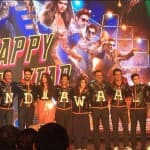 Shah Rukh Khan, Deepika Padukone, Abhishek Bachchan at Happy New Year trailer launch event: Indiawaale have arrived!