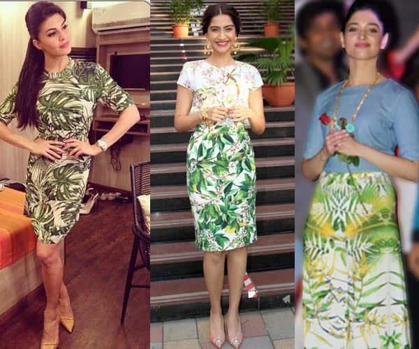 Tamannaah, Jacqueline Fernandez or Sonam Kapoor: Who wore the tropical print best?- Vote!