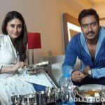 Ajay Devgn and Kareena Kapoor Khan enjoy a Gujarati feast!