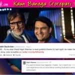 Amitabh Bachchan thanks Kapil Sharma for being on Kaun Banega Crorepati 8