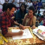 Emraan Hashmi shows his artistic side before Raja Natwarlal releases-View pic!