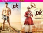 Aamir Khan with a transistor or Aamir Khan with a French horn – which PK poster is your favourite? Vote!