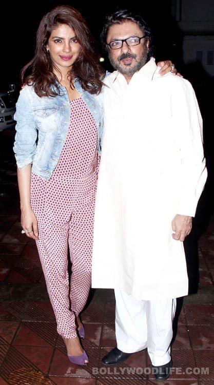 Why did Sanjay Leela Bhansali host a party for Priyanka Chopra?