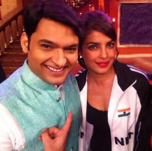 Comedy Nights with Kapil: Check out Priyanka Chopra and Kapil Sharma's PDA! -Watch video