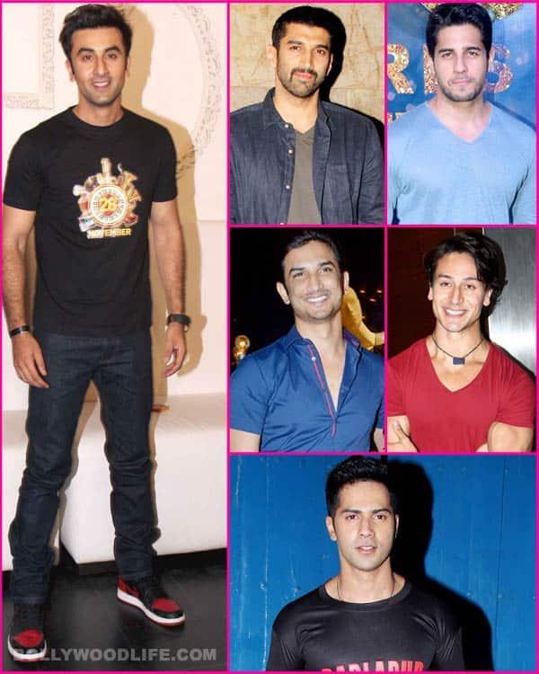 Ranbir Kapoor praises Aditya Roy Kapur, Sidharth Malhotra, Sushant Singh Rajput, Tiger Shroff and VarunDhawan!