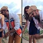 Not Katrina Kaif, Ranbir Kapoor parties with Deepika Padukone - Watch video!
