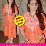 Rani Mukerji's fashion fusion gives rise to a mighty confusion!