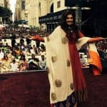 Raveena Tandon attends the India Day Parade in New York!