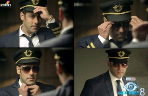 Bigg Boss 8 teaser: Salman Khan the dashing pilot, will land at your door step soon-watch video!