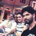 Shahid Kapoor, Shraddha Kapoor and Vishal Bhardwaj on the sets of Comedy Nights with Kapil - view pics!