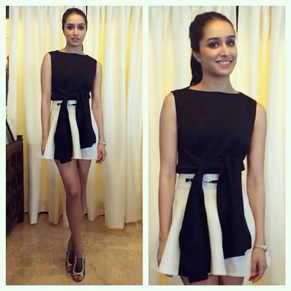 Shraddha Kapoor looks pretty in monochrome!