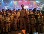 Singham Returns: Ajay Devgn shakes a leg with kids in Yo Yo Honey Singh's Aata Maajhi Satakli-view pic!