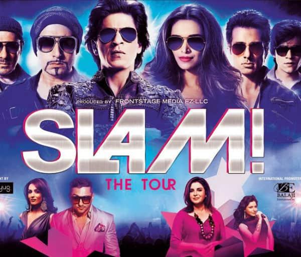 SLAM! The Tour promo: Shah Rukh Khan,Deepika Padukone and Yo Yo Honey Singh will amaze you-watch video!