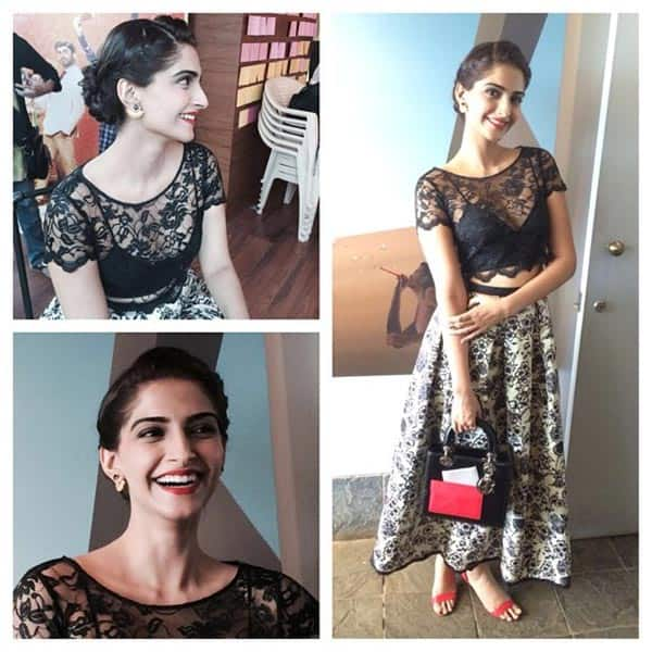 Sonam Kapoor Floors Fashion Pundits In A Lacy Sonal Kalra