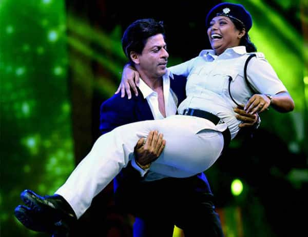 Not uniform, it's about the lady inspector in uniform, says Shah Rukh Khan