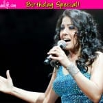 Birthday Special: Sunidhi Chauhan top 3 songs!