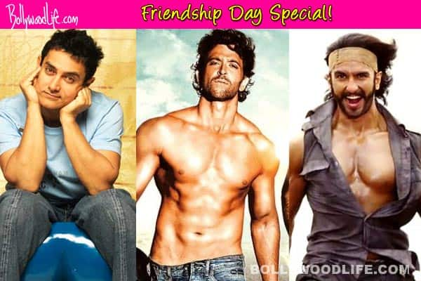 Friendship's Day special: Aamir Khan, Hrithik Roshan, Ranveer Singh re-define the rules of friendship!