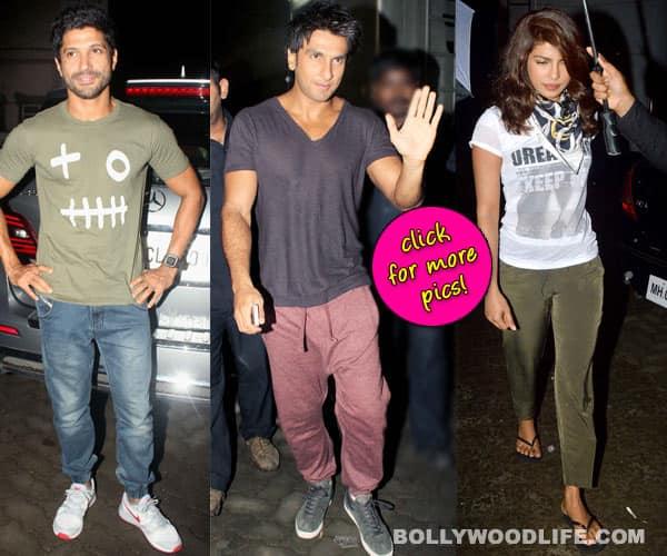 Dil Dhadakne Do: Ranveer Singh, Priyanka Chopra and Farhan Akhtar are back in Mumbai for the shoot
