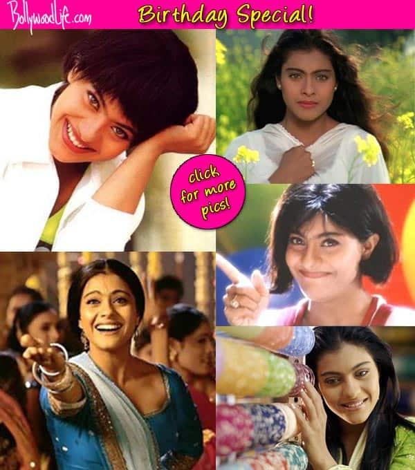 From coy Simran to tomboy Anjali, a look at Kajol's various onscreen roles!
