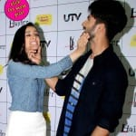 Shahid Kapoor and Shraddha Kapoor's camaraderie during Haider promotions grabs eyeballs- View pics!