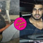 Arjun Kapoor and Sonakshi Sinha too busy to pose for the shutterbugs? View pics!