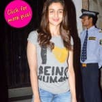 Alia Bhatt supports Salman Khan - view pics!
