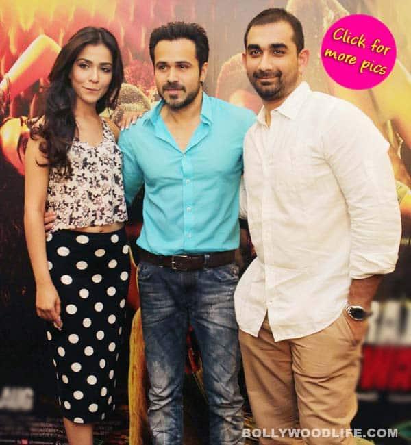 Emraan Hashmi, Humaima Malik and Kunal Deshmukh promote Raja Natwarlal!