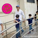 Hrithik Roshan spotted with sons Hridhaan and Hrehaan-view pics!
