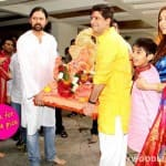 Ganesh Visarjan 2014: Sonali Bendre bids adieu to Ganpati - View pics!