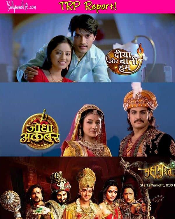 Diya Aur Bati Hum, Mahabharat and Jodha Akbar continue to hold the top slots - Read TRP report!