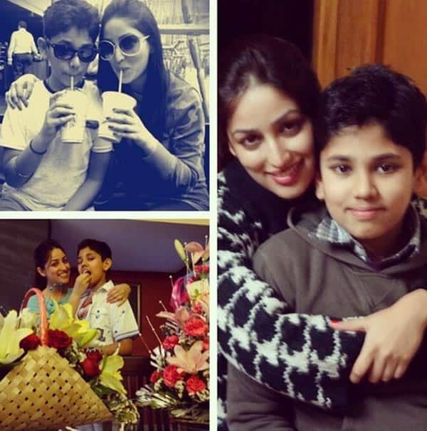 Yami Gautam celebrates Raksha Bandhan with her brother-View pic!