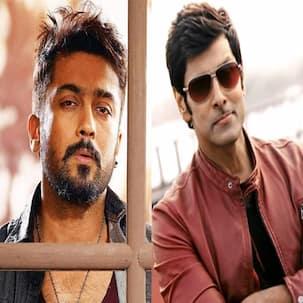 Suriya promotes Vikram's I