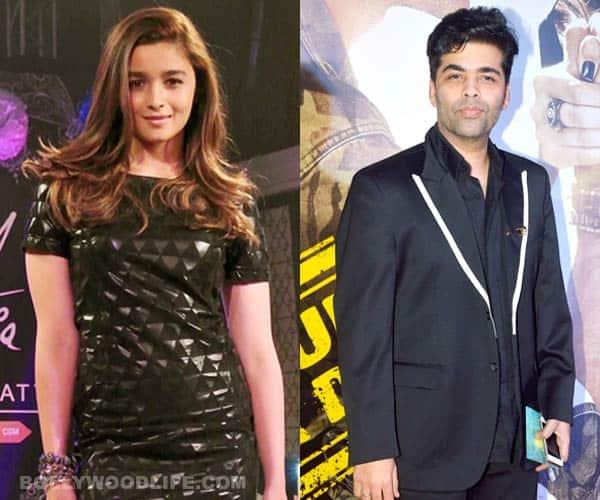 Alia Bhatt: Karan Johar has a great fashion sense!