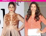 Anushka Sharma and Deepika Padukone get close after the clevage photo controversy