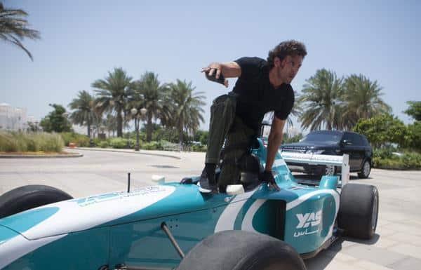 Hrithik Roshan goes the Michael Schumacher way in Bang Bang!