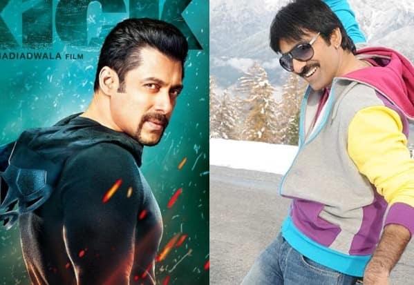 Ravi Teja pays tribute to Salman Khan's Kick!
